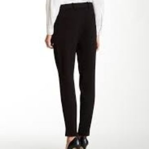 New THEORY BELISSEN Wool Trousers Cigarette Pant